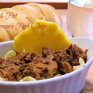 Crock-Pot Applesauce Pork Chops.