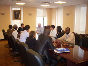 Photo: Courtesy visit to the Turkist Permanent Mission to the United Nations (round table discussion)