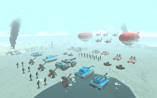 Screenshot 2 Army Battle Simulator 1.2.60 APK MOD