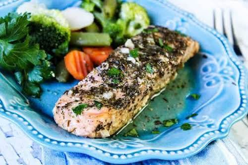 """Easy Baked Salmon in Foil """"f you're looking to incorporate fish and..."""