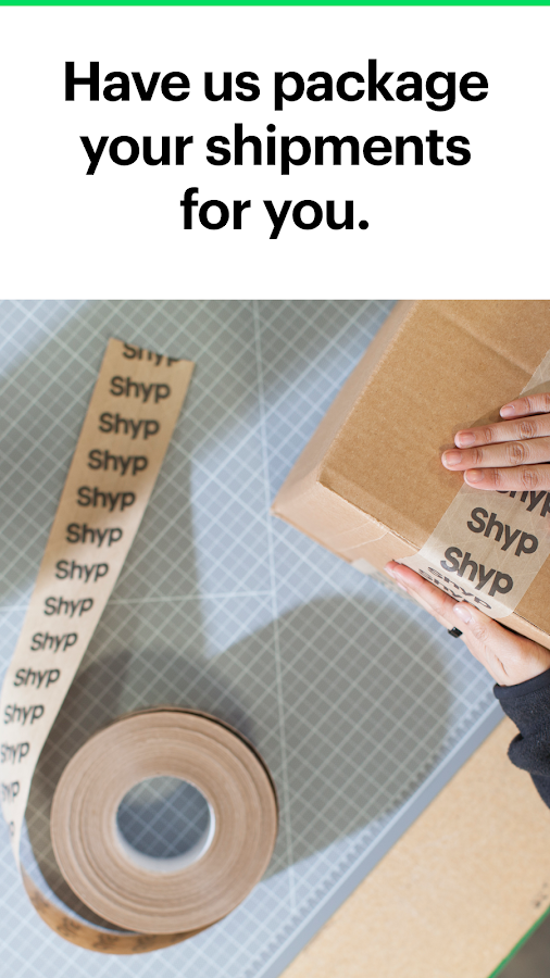 Shyp: Easy Shipping, Low Rates- screenshot
