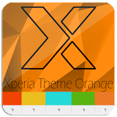 XPERIA™ Theme | Orange