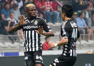 "Victor Osimhen : ""Charleroi m'a permis de grandir"""