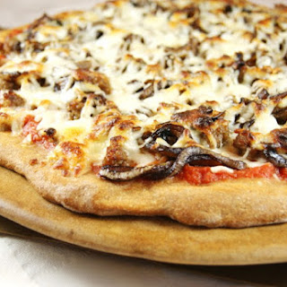 Sausage & Balsamic-Caramelized Onion Pizza