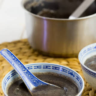 Black Sesame Soup.