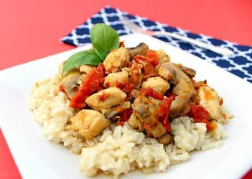 """Chicken with Sun-Dried Tomatoes """"This was so good. I followed the recipe..."""