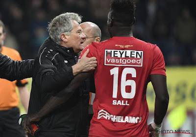 Moustapha Sall speelt niet langer voor Antwerp FC