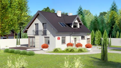 projekt Dom przy Alabastrowej 9