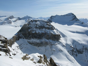 Photo: The north face of Mt. Collie.