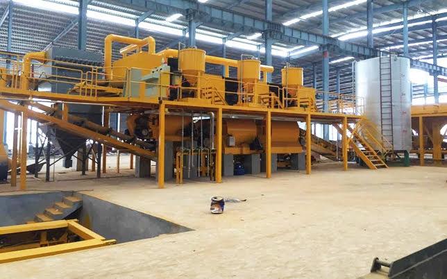 Nguyên liệu sản xuất đá nhân tạo