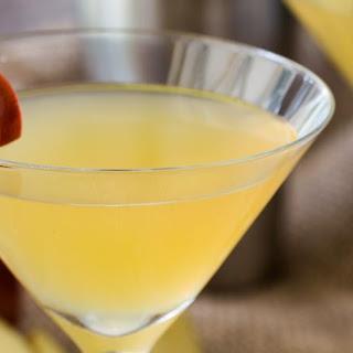 Toffee Apple Martini.
