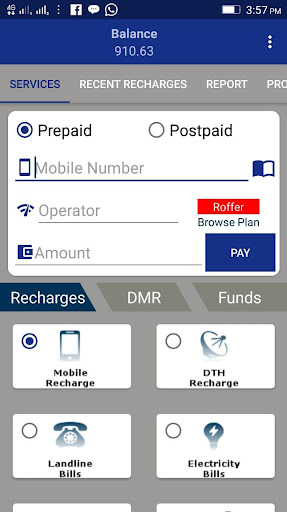 PayzoneEpay - Recharge , Bill Pay & Money Transfer 1.16 screenshots 2