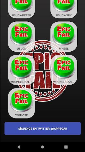 Epic Fail Soundboard App Report on Mobile Action - App Store