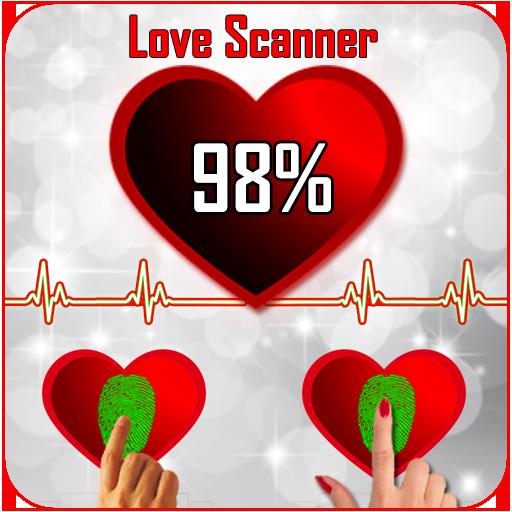 Love Calculator Finger Scanner 2018 Prank for PC