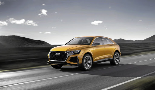 Timing on Audi's Q8 SUV has yet to be confirmed as the final production model has not yet been unveiled
