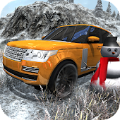 Offroad Rover Snow Driving