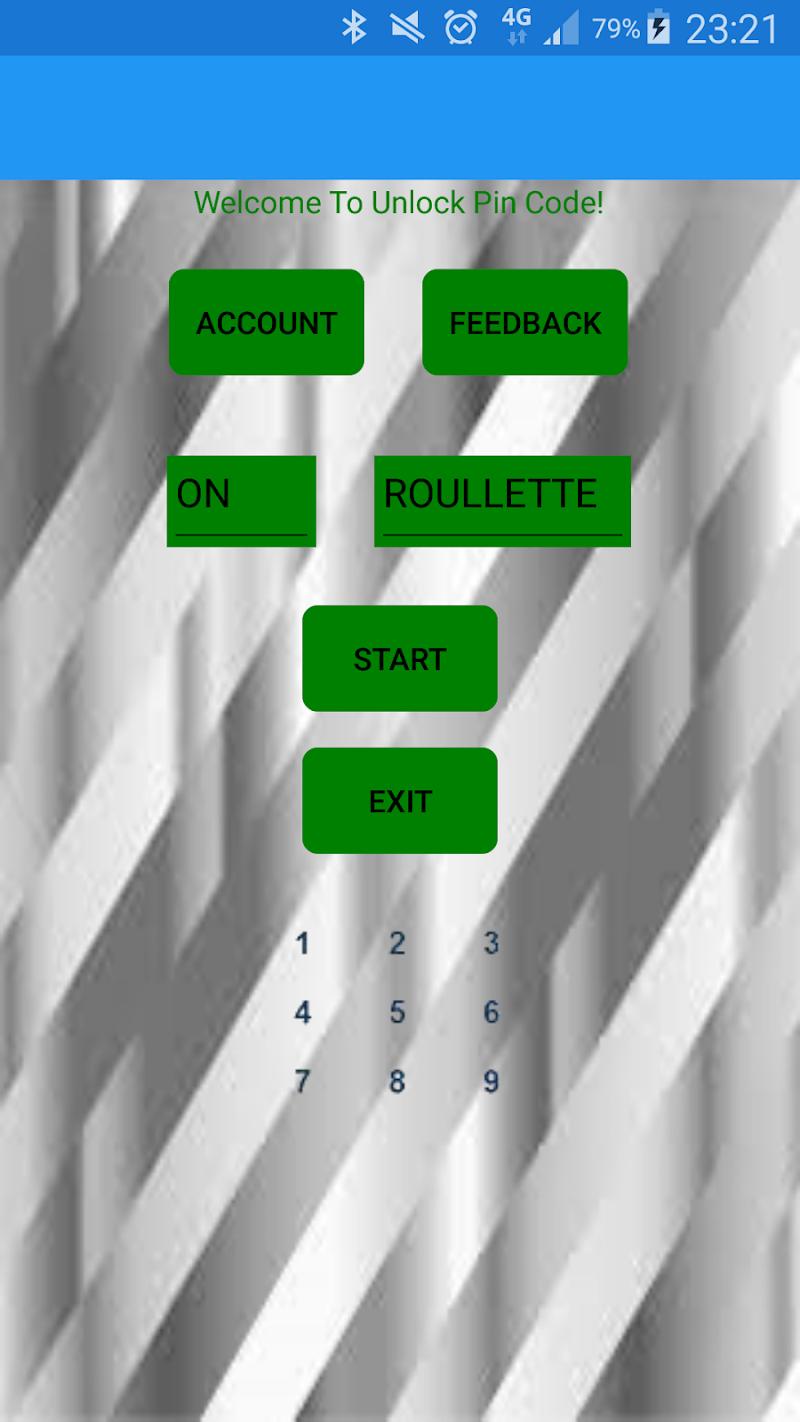Скриншот Unlock Pin Code