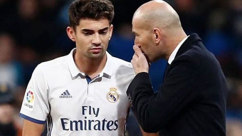 Enzo Zidane, el hijo de Zidane.
