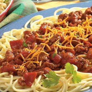 Chili With Spaghetti Beans Recipes