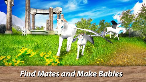 ud83eudd84ud83cudf08u2764ufe0f Pegasus Simulator: Flying ud83dudc0e Horse Survival 1.1 screenshots 12