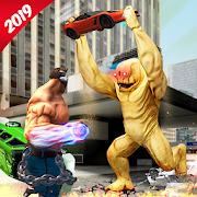 Monster Superhero Warrior Legend City Battle