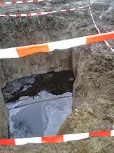 Photo: 2.1.2014 — Dekontaminační plocha Rokytí.