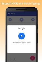 Text to Speech - Read Aloud screenshot thumbnail