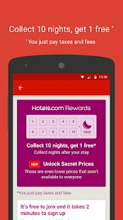 Hotels.com – Hotel Reservation Screenshot 1