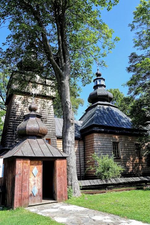 CerkiewOpieki Matki Bożej w Hańczowej