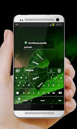 Green Shift GO Keyboard