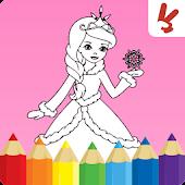 Tải Game Tô màu công chúa