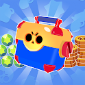 simulator for brawl stars - Open that box! icon