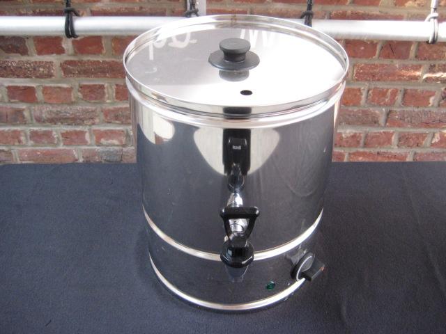 Waterkoker huren  inox met aftapkraan - 230V