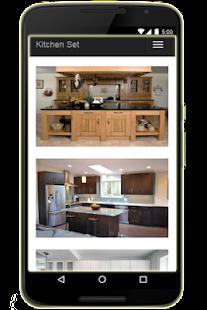 Návrh kuchyňských sestav - náhled