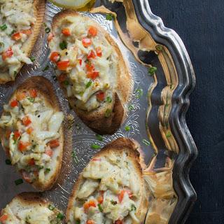 Crab Crostini.