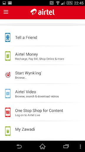 airtel care africa screenshot 2