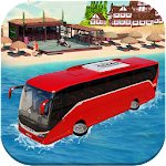 Floating Water Bus Simulator Icon