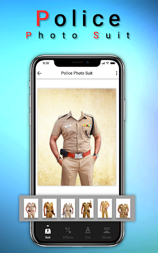 Police Photo Suit : Women & Men Police Pic Editor 1.2 screenshots 1