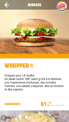 Burger King France screenshot 2