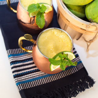 Mango Pineapple Moscow Mule Recipe