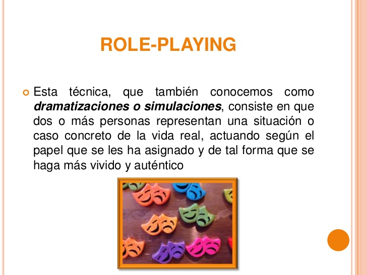 técnicas de role playing