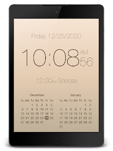 "PsPsClock ""Digital"" - Music Alarm Clock & Calendar - náhled"