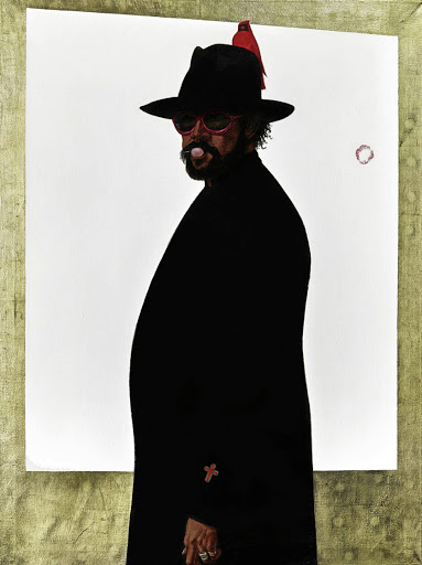 Self-portrait by Barkley L Hendricks, star of 'Art in the Age of Black Power'.