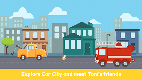Tom the Tow Truck: Drive in Car City - Mini Mango- screenshot thumbnail