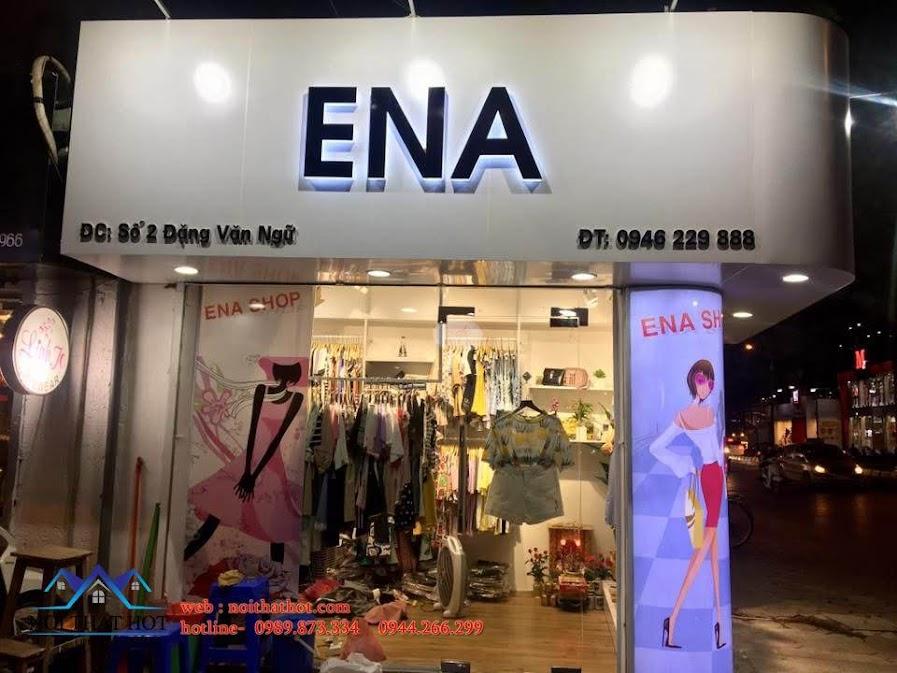 thiết kế shop thời trang ena 4