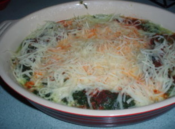 Baked Spinach With Cheese Recipe