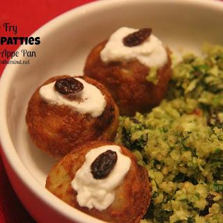 Farali (Fasting) Patties made in appe pan