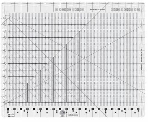 Linjal Creative Grids Stripology XL (12039)