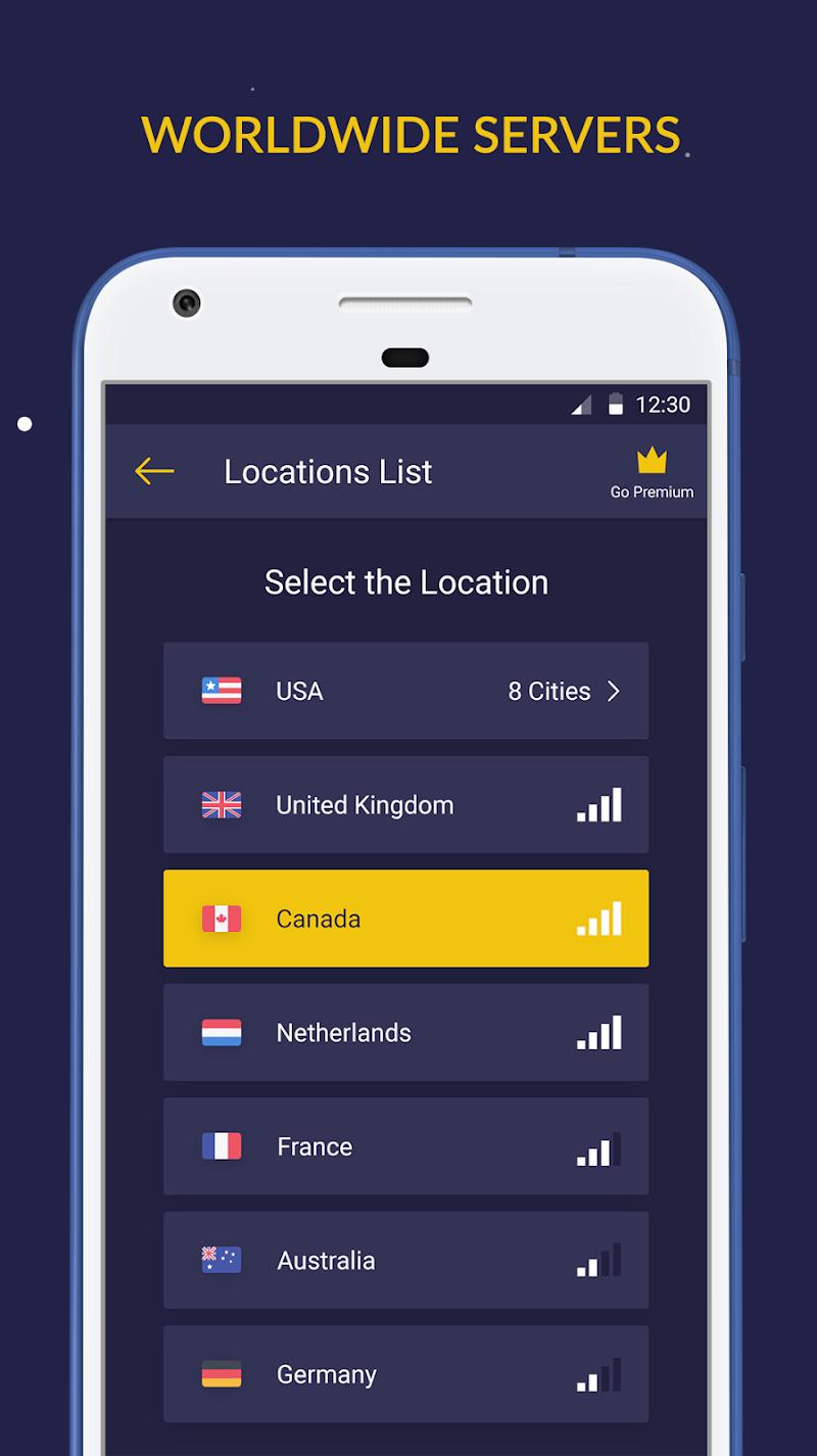 Free VPN by Veepn Screenshot 2