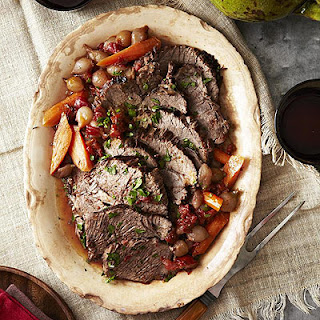 Pot Roast with Red Wine Sauce